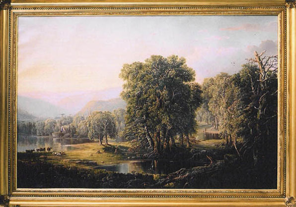 Landscape by William Louis Sonntag - after