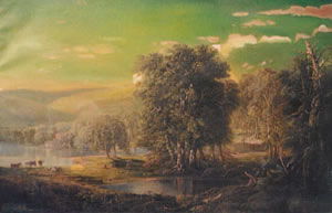 Landscape by William Louis Sonntag - before