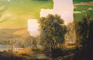 Landscape by William Louis Sonntag - during