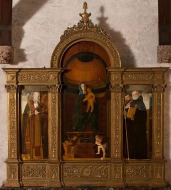 St. Marks Altarpiece - before